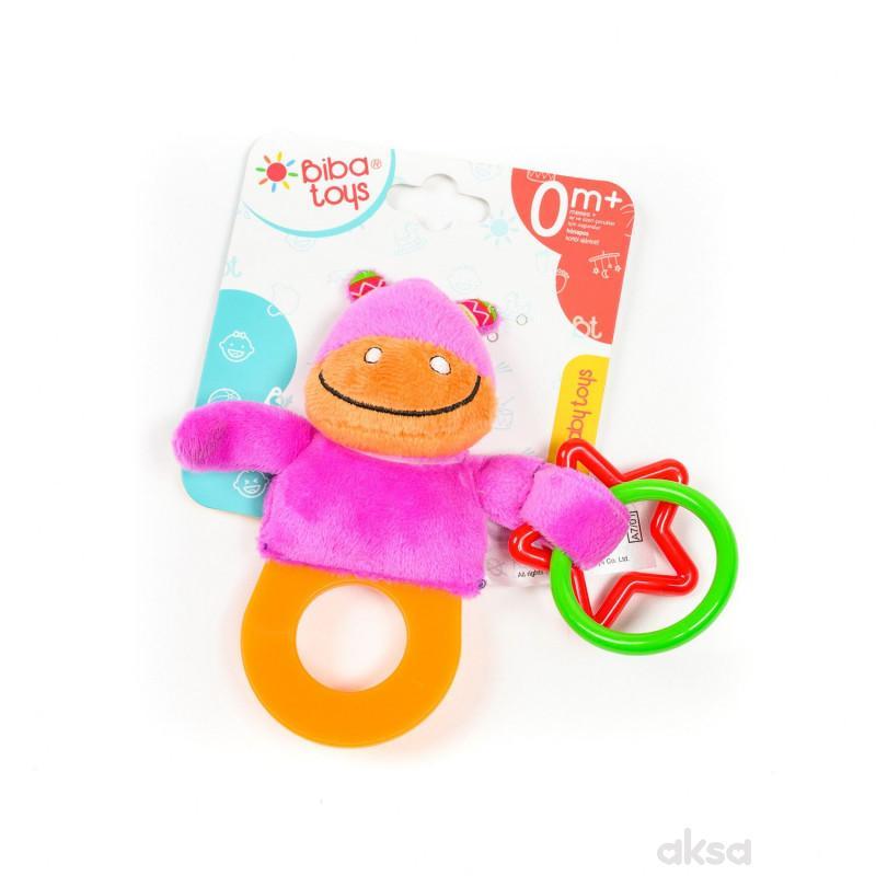 Biba Toys zvečka-glodalica drugar iz džungle