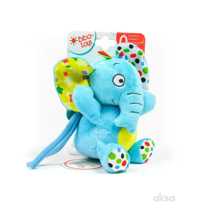 Biba toys plisana muzicka igracka - slon