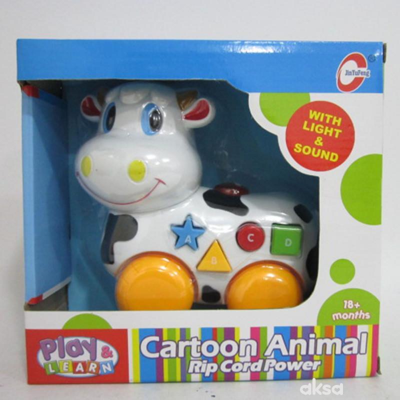 HKM igračka muzička krava