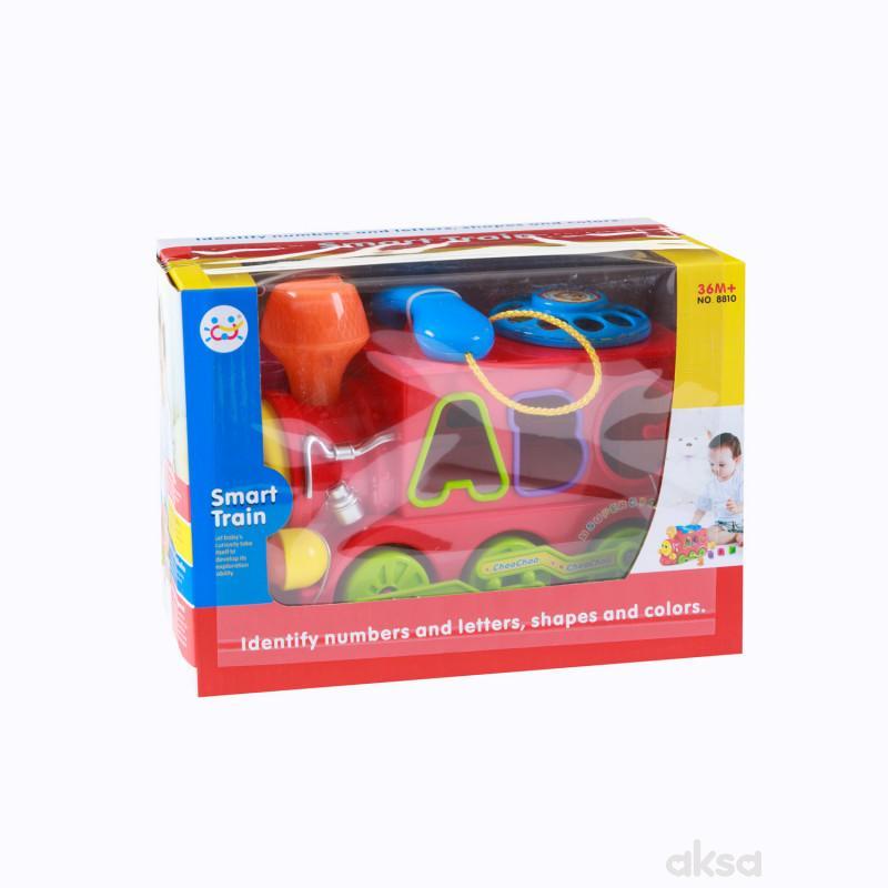 Huile toys, igračka vozić, umetaljka