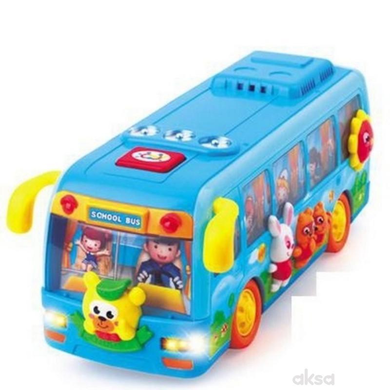 Huile toys, igračka veseli autobus sa životinjama