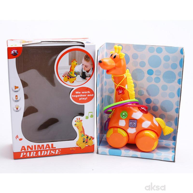 Qunsheng Toys, igračka, muzička žirafa