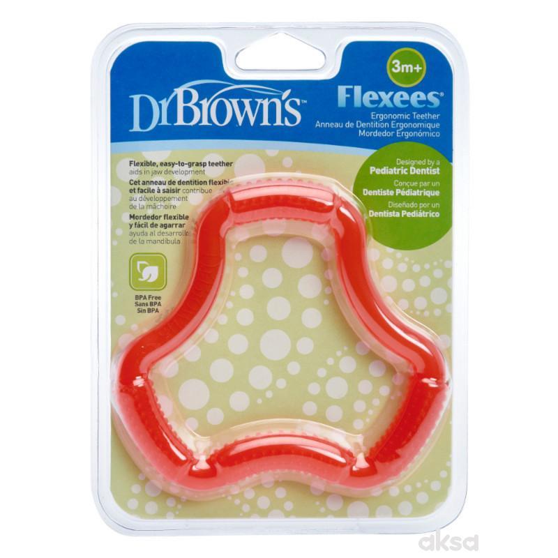 Dr.Browns savitljiva glodalica, plava i roze