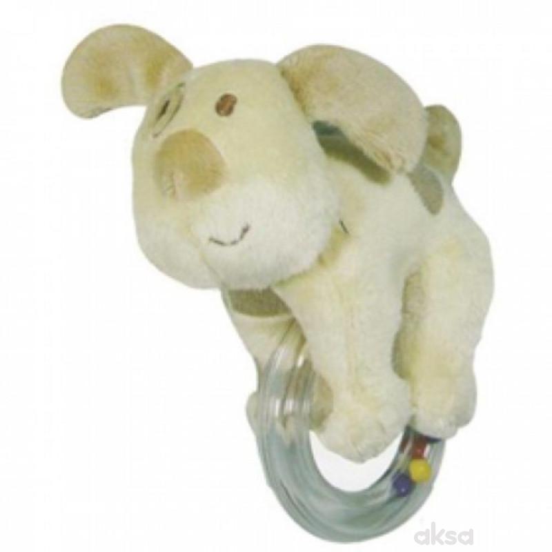 Biba Toys plišana igračka sa zvečkom vesele živ