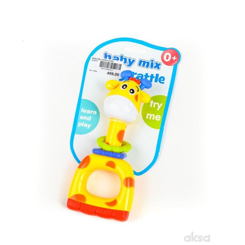 Baby Mix zvečka žirafa
