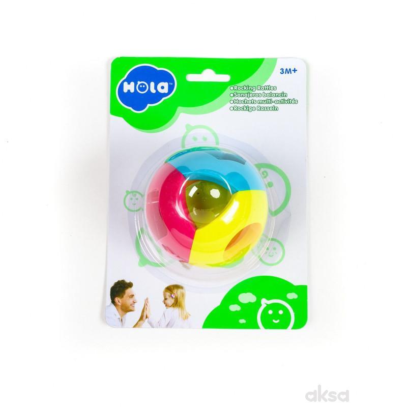 Huile toys, zvečka lopta