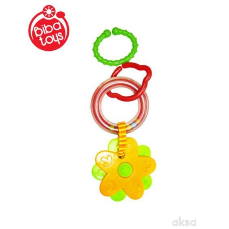 Biba Toys zvečka-glodalica cvetić
