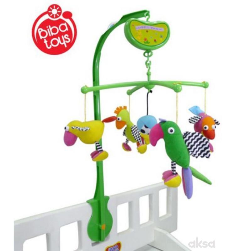 Biba Toys muzička vrteška ptičice