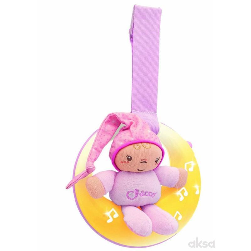 Chicco muzička lampa Uspavani Mesec (fd)-roze