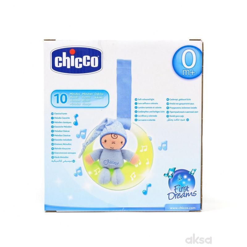Chicco muzička lampa Uspavani Mesec (fd)-plava