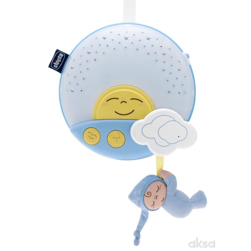 Chicco muzički projektor Uspavano Sunce (fd)-plavi