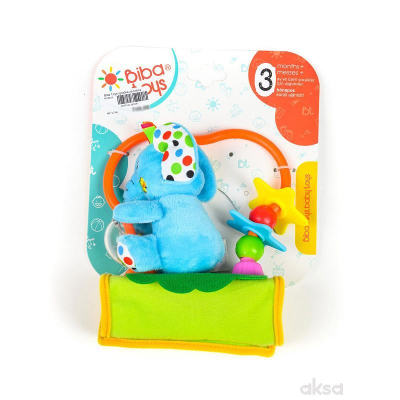Biba Toys igračka za kolica slonče