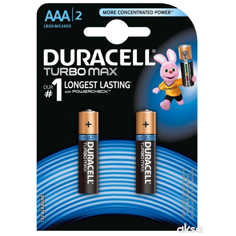 Duracell Turbo AAA 2kom baterija MARS
