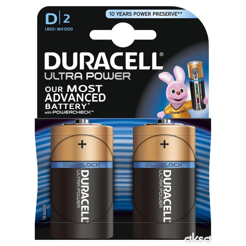 Duracell Ultra D 2 kom
