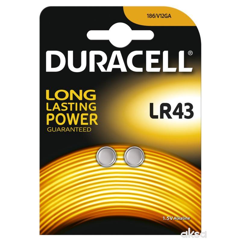 Duracell spec bat LR43 2kom