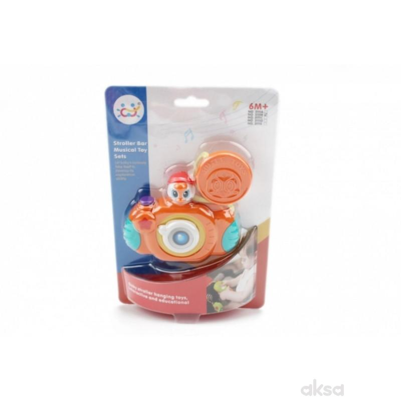 Huile toys muzička igračka za kolica foto-aparat