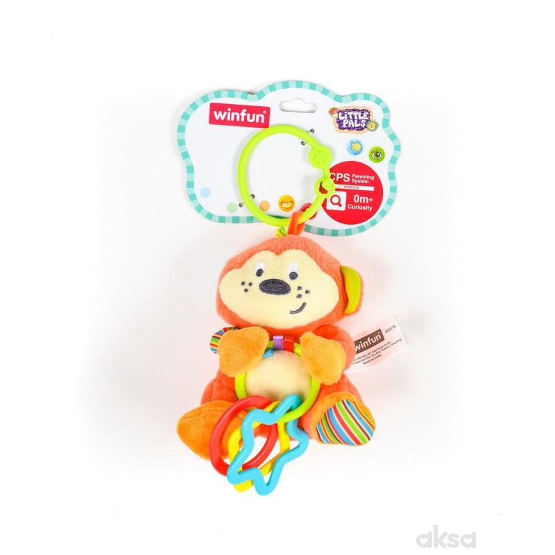 Win Fun igračka zvečka sa kružićima Majmunče