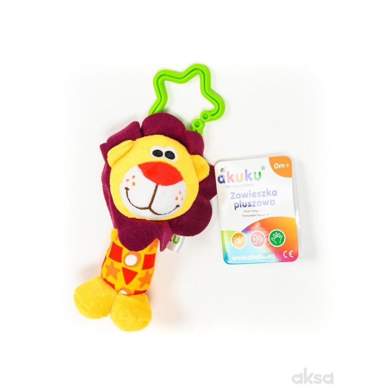 Akuku igračka zvečka lav