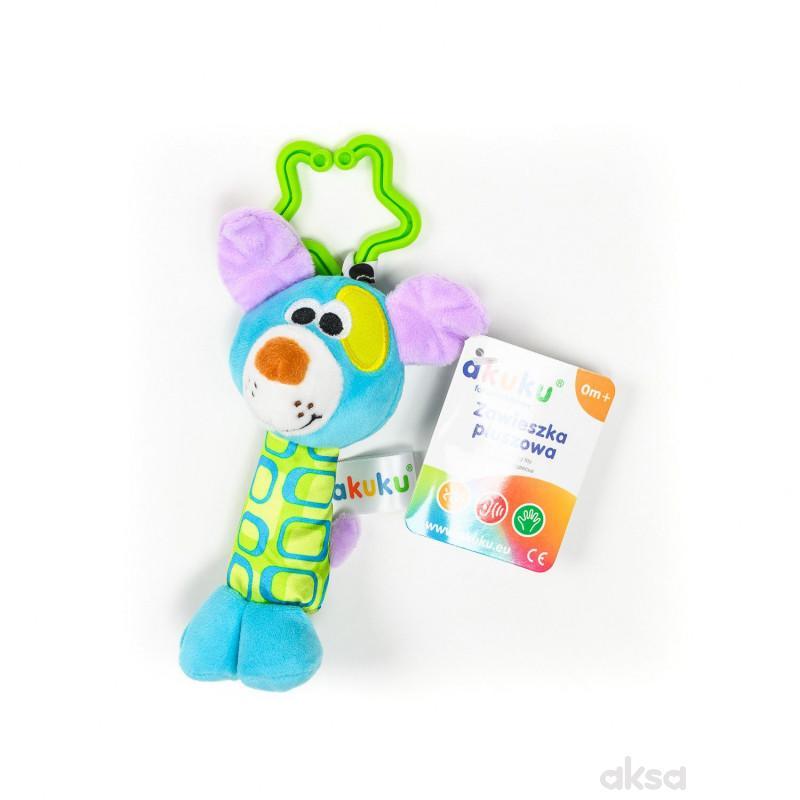 Akuku igračka zvečka kuca