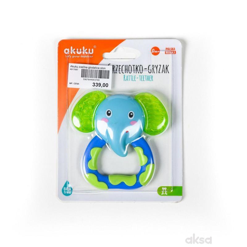 Akuku zvečka glodalica slon