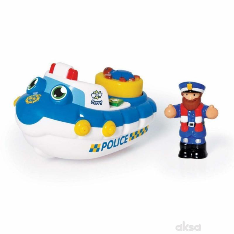 Wow igračka policijski čamac Perry