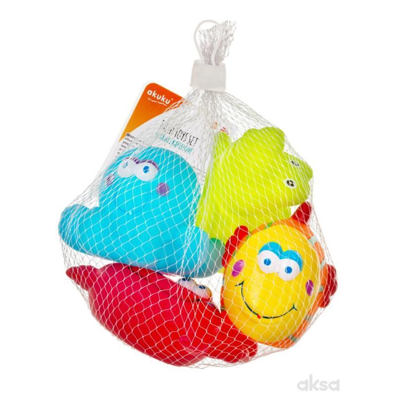 Akuku igračka za kupanje (4 komada)