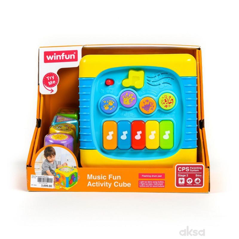 Win Fun igračka Muzička kocka