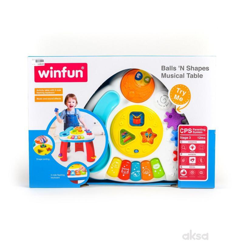 Win Fun igračka Muzički sto