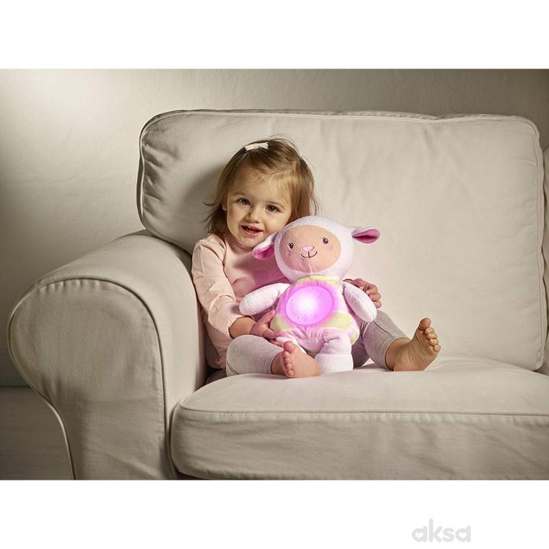 Chicco muzička lampa Uspavana ovčica (fd) - roze