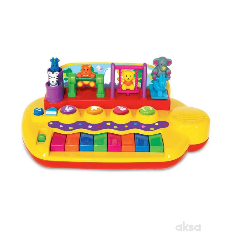Kiddieland igračka klavijatura