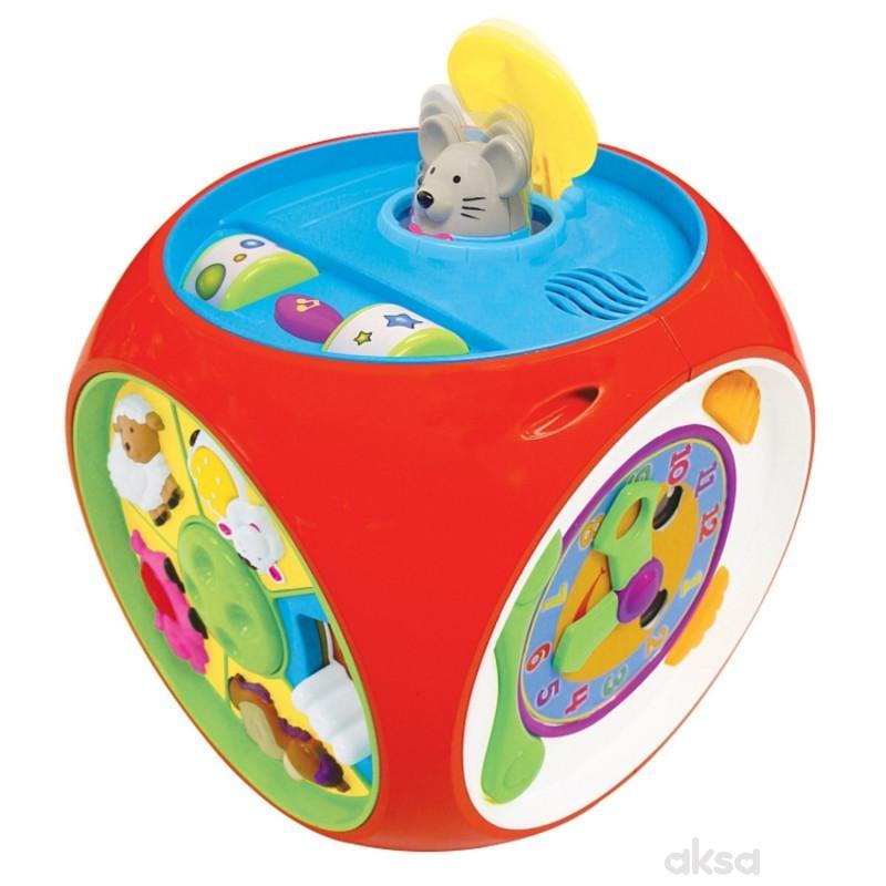 Kiddieland igračka interaktivna kocka