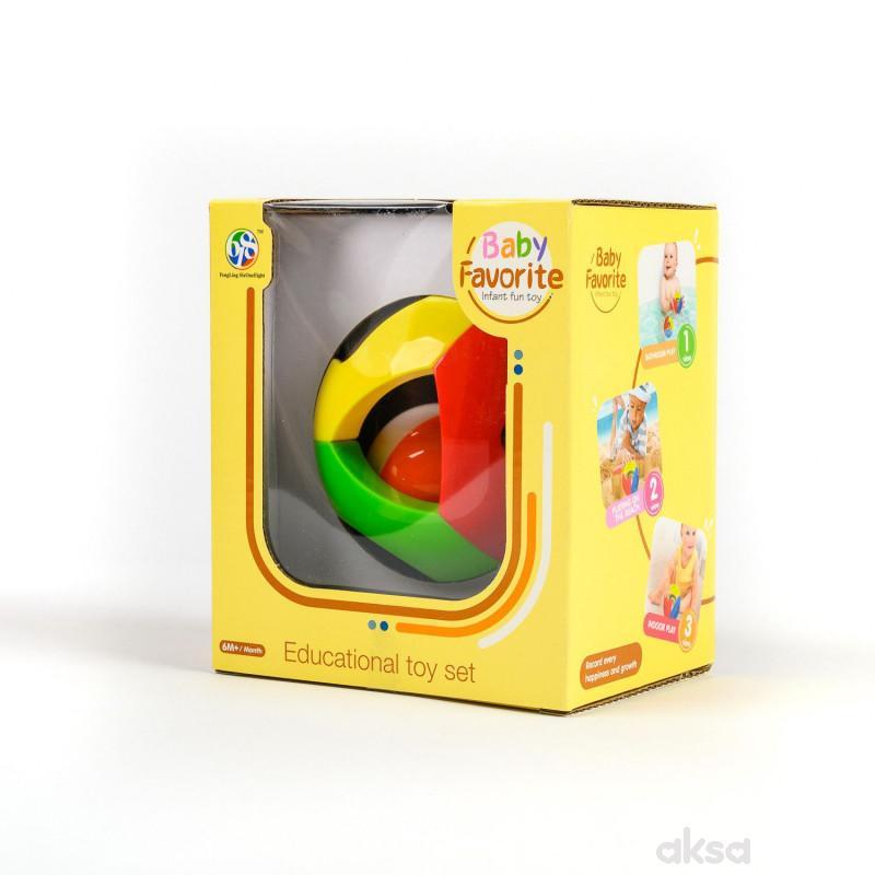HK mini igračka, loptica sa zvečkom