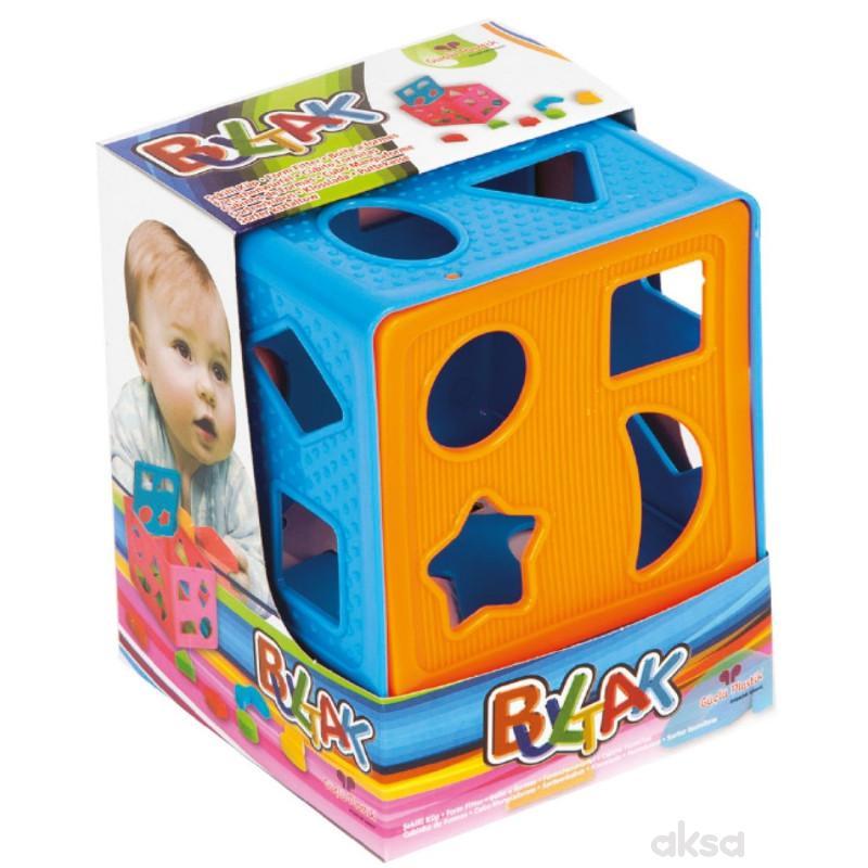 Edukativna kocka za bebe, sorter oblika