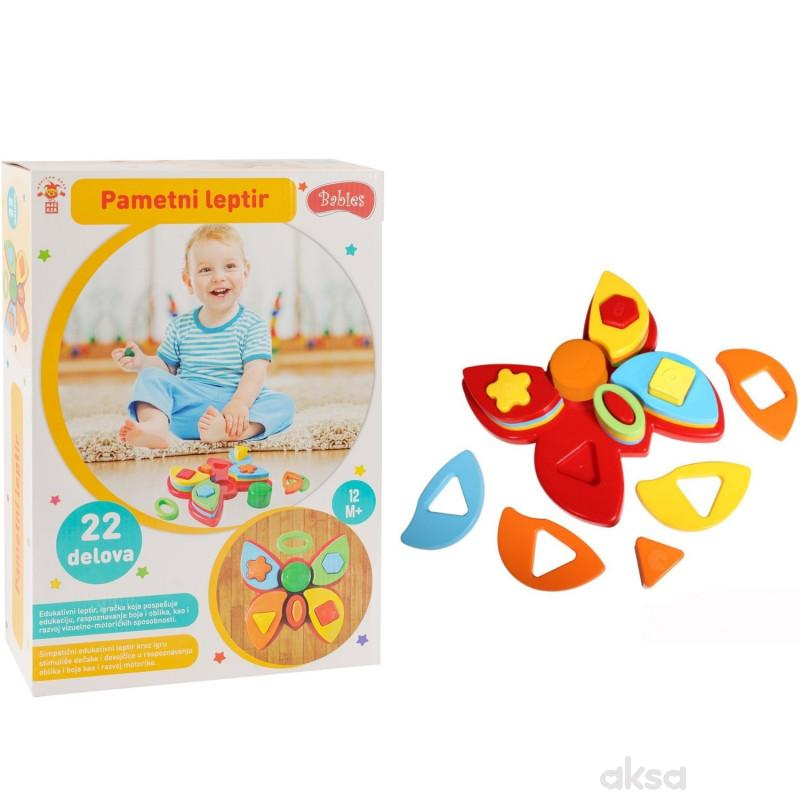 Set edukativni za bebe leptir