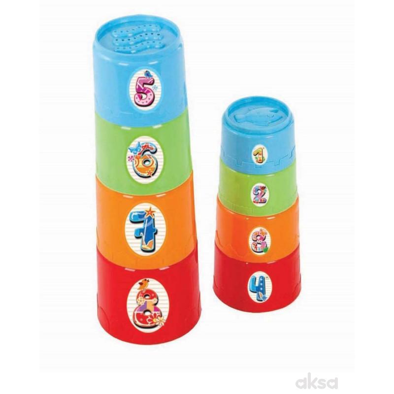 Set za bebe cilindar kula 3 u 1