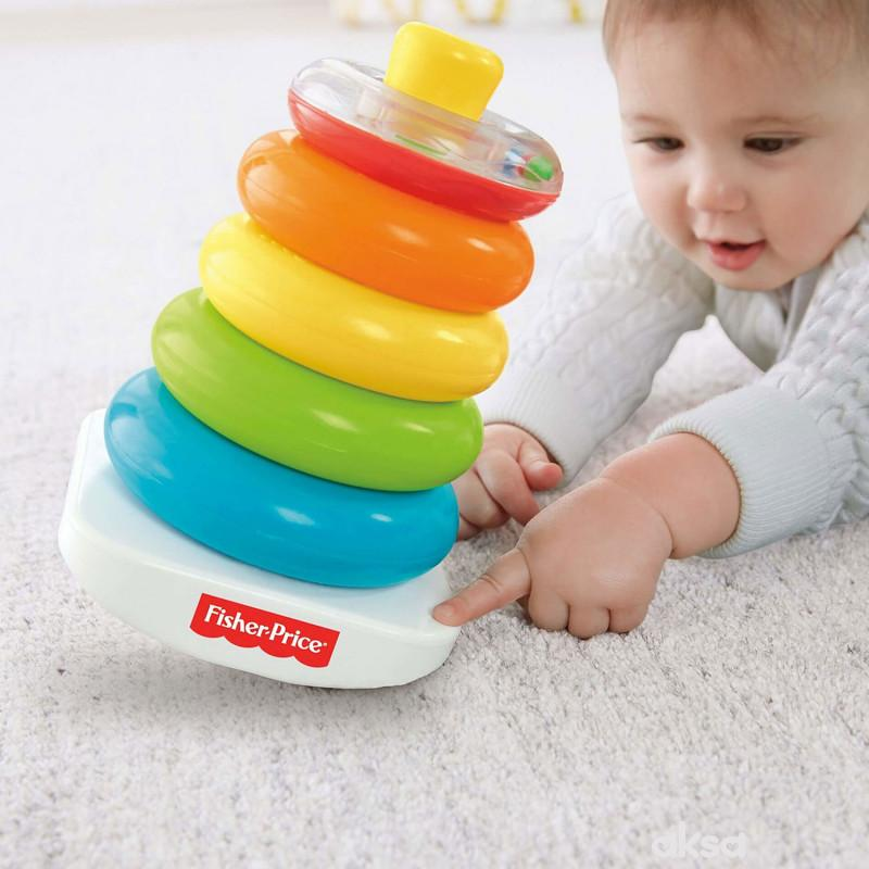 Fisher Price šareni prstenovic