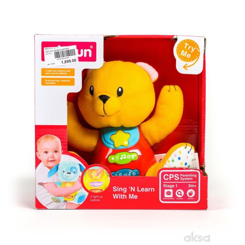 Win Fun igračka pametni drugar Meda