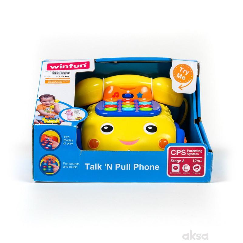Win Fun igračka Edukativni telefon