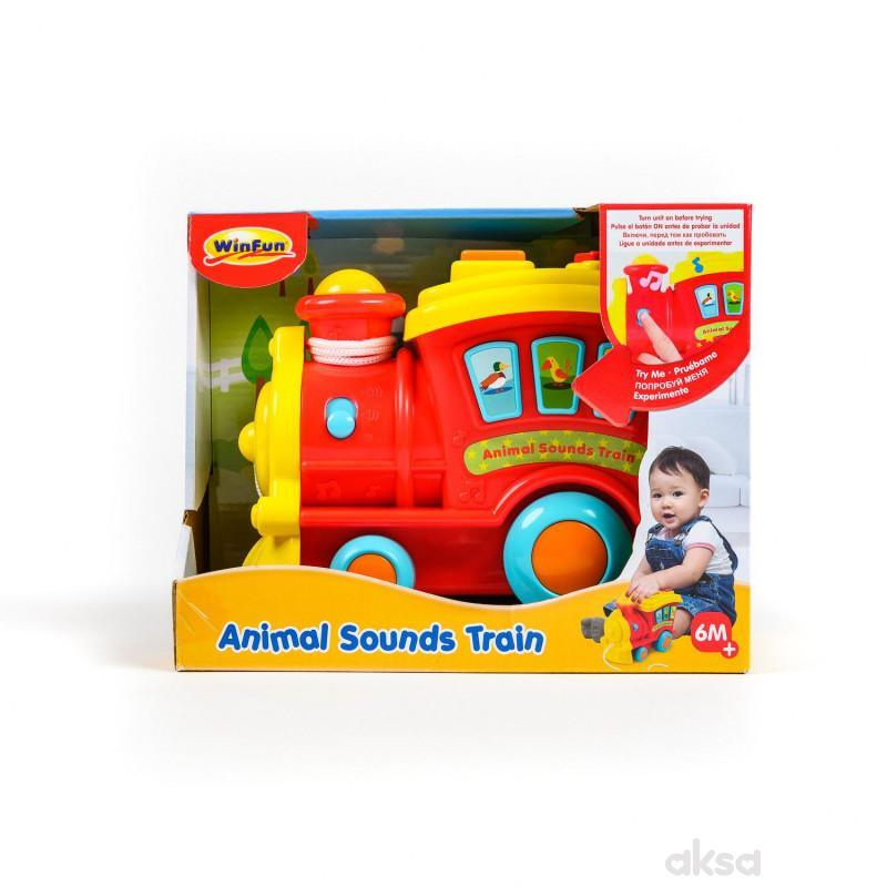 Win Fun igračka Edukativni vozić