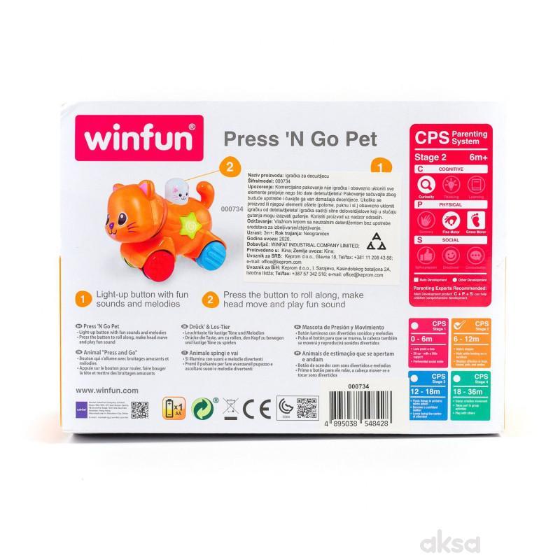 Win Fun igračka Edukativna maca