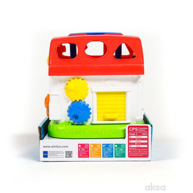 Win Fun igračka Interaktivna kućica