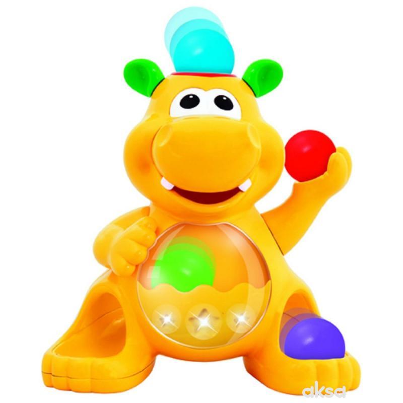 Kiddieland igračka Hippo sa lopticama