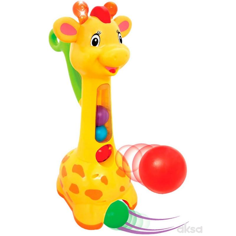Kiddieland igračka Vesela žirafa