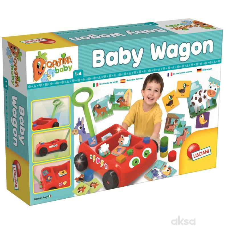 Carotina Edukativno vozilo Baby Wagon