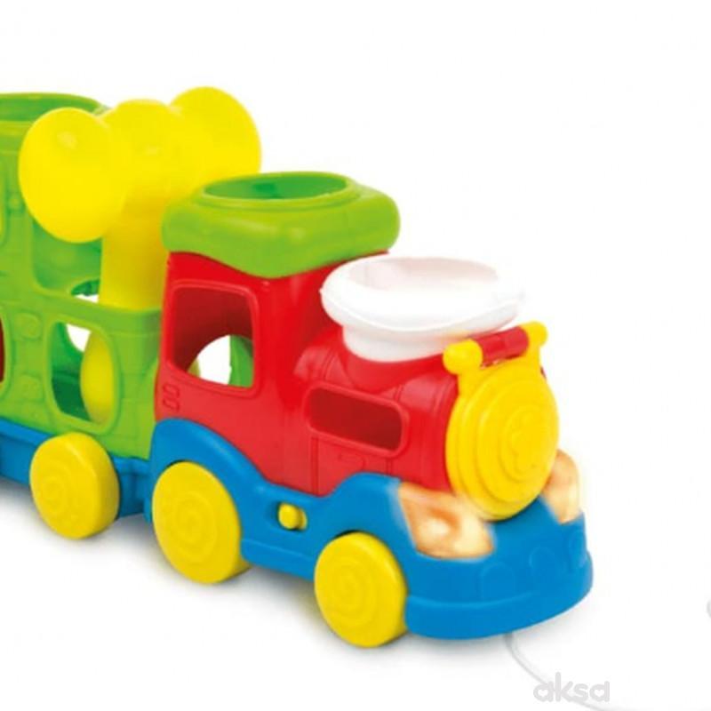 Win fun igračka set Čekić i voz