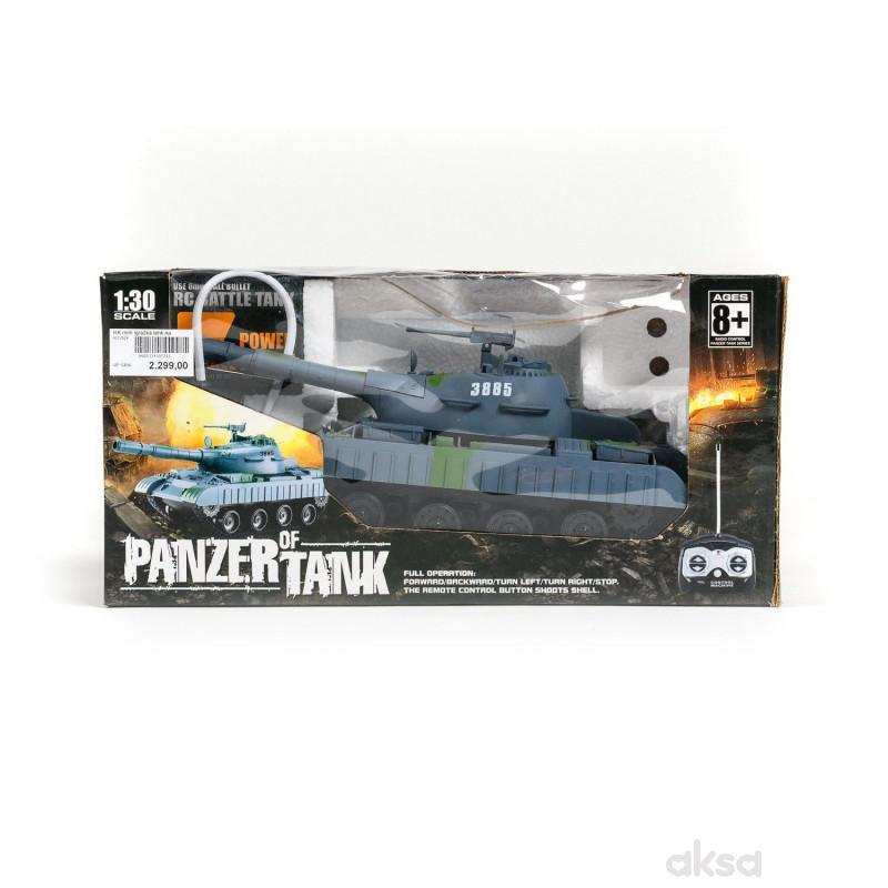 HK mini igračka tenk na daljinsko upravljanje