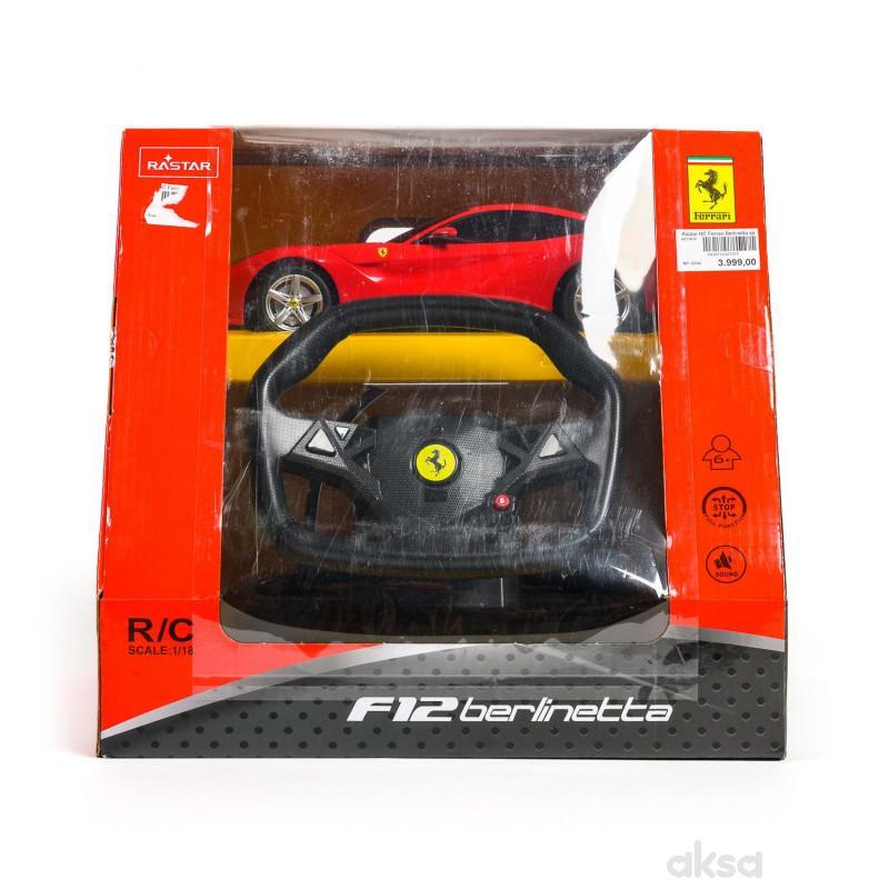 Rastar RC Ferrari Berlinetta sa volanom 1:18-crv