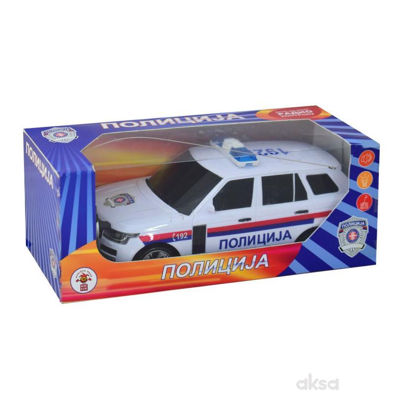 Automobil R/C Policija Sr Sa Zvucnim I Svetlom