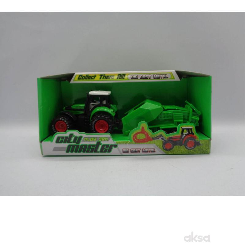HK Mini igračka traktor sa priključcima