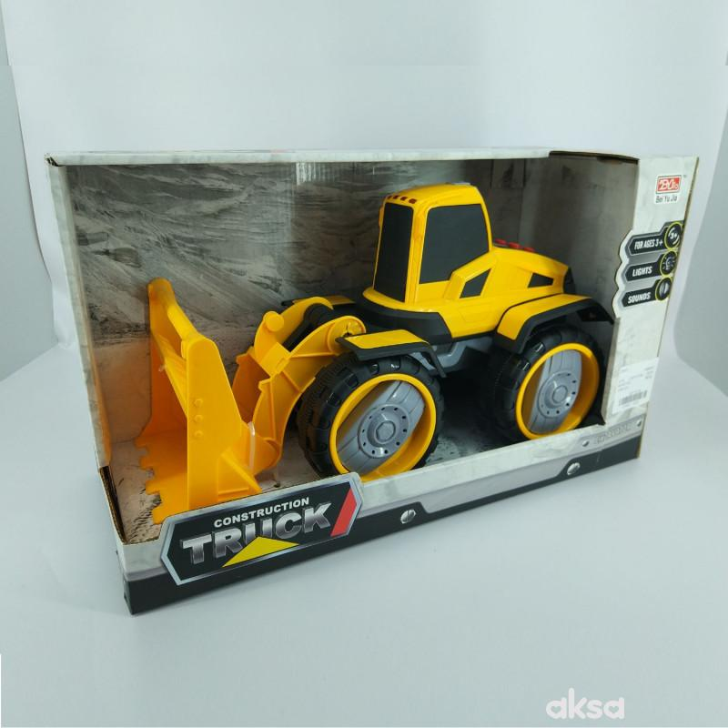 Hk Mini, igračka bager žuti